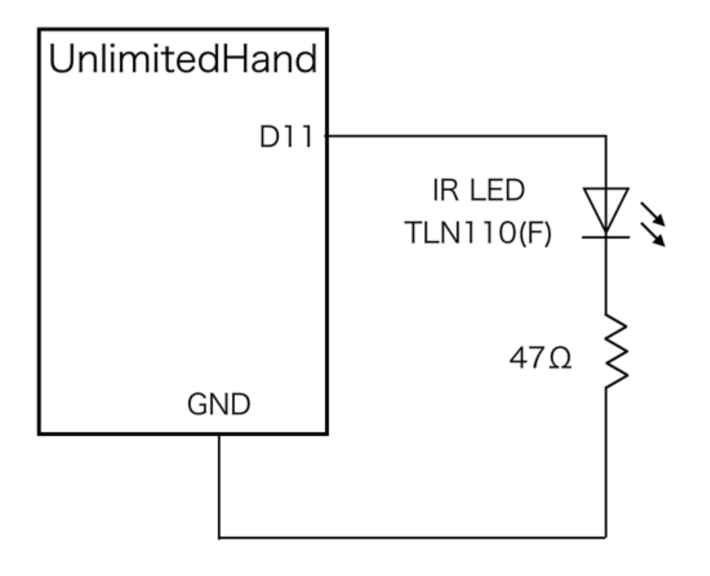 Hackable Port Unlimitedhand Developers Site Circuit On The Youtube Video Here Schematic Is Below 5 Compiling Program